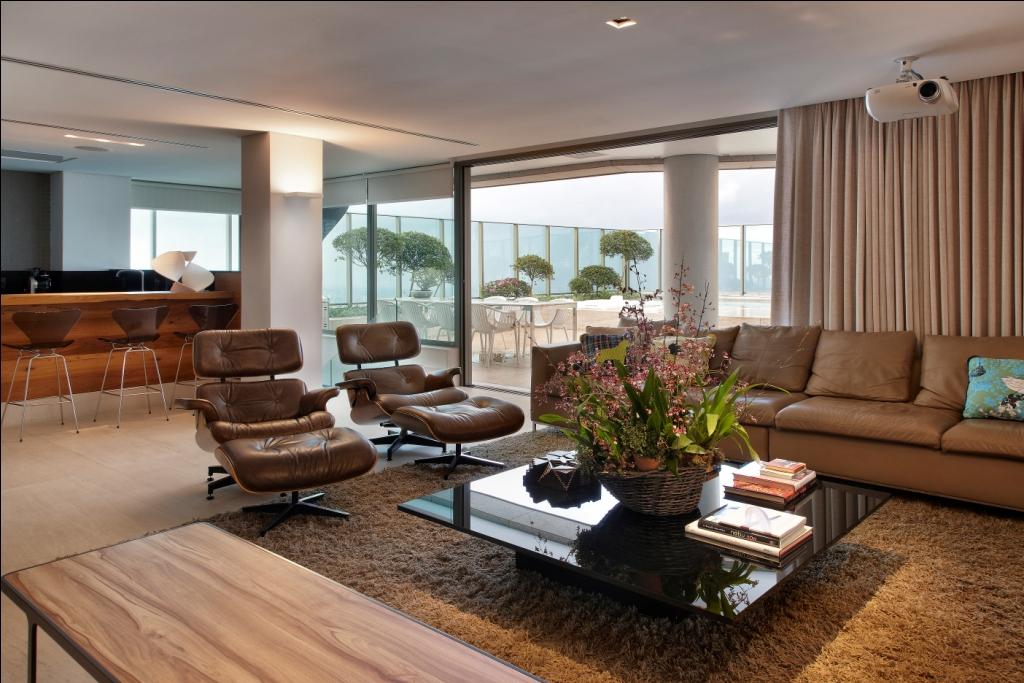10 ambientes charmosos com a Poltrona CharlesEames