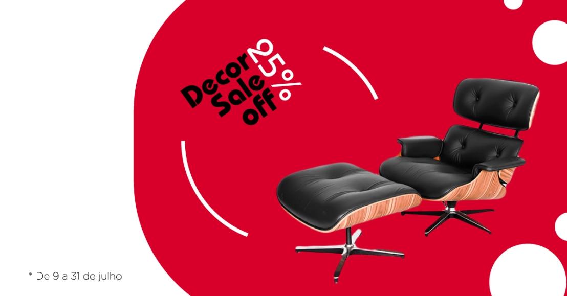 Decor Sale oferece 25% off em clássicos dodesign